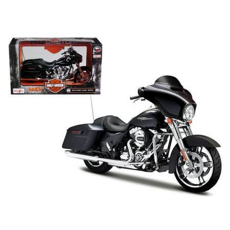 2015 Harley Davidson Street Glide Special Black 1/12 Motorcycle Model by Maisto