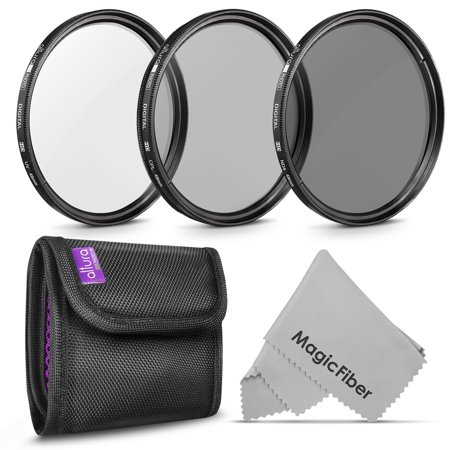 49MM Altura Photo Professional Photography Filter Kit (UV, CPL Polarizer, Neutral Density ND4) for Camera Lens with 49MM Filter Thread + Filter