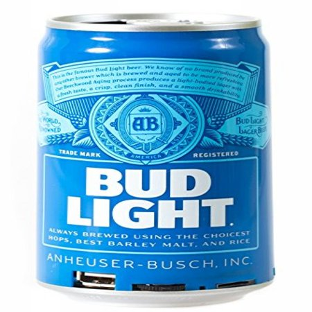 Bud Light Bluetooth Can Speaker- Wireless Audio Sound Stereo Beer Can, Bluetooth Bud Light music player ( Bud Light (Great Summer Beers)