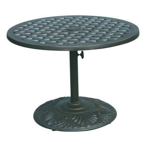 Darlee DL30-P Series 30 Round Pedestal Tea Table
