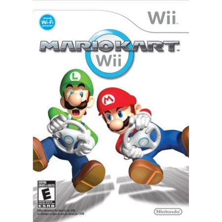 Mario Kart, Nintendo Wii (Wheel Sold Seperately)
