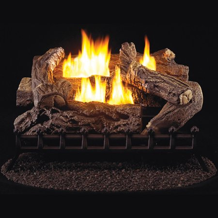 ProCom Ventless Propane Gas Log Set - 30in., 40,000 BTU, Millivolt Control, Model#