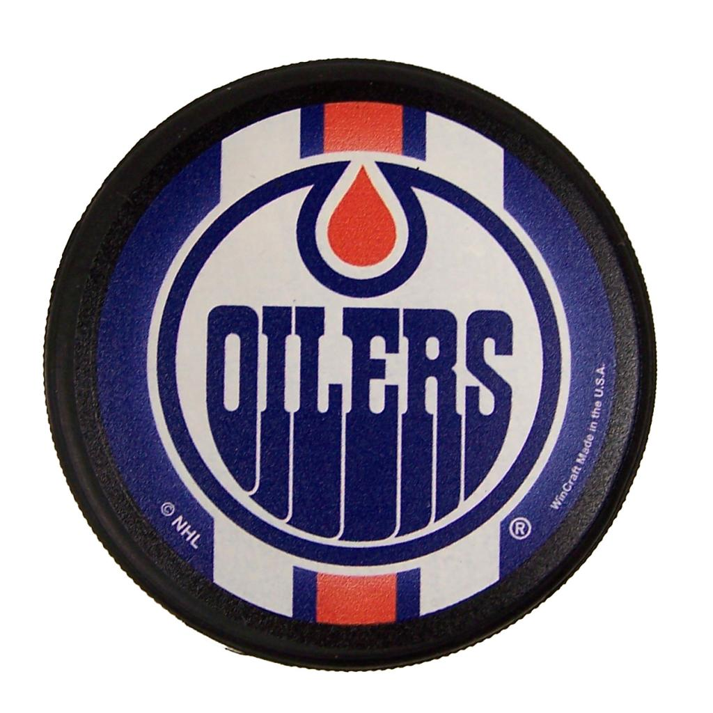 Edmonton Oilers Official NHL Official Size Hockey Puck by Wincraft