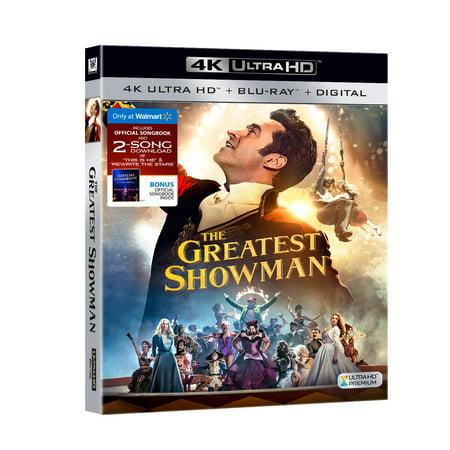 The Greatest Showman  Walmart Exclusive   4K Ultra Hd  Blu Ray   Digital