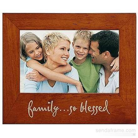 - FAMILY     SO BLESSED eco-friendly frame by Malden