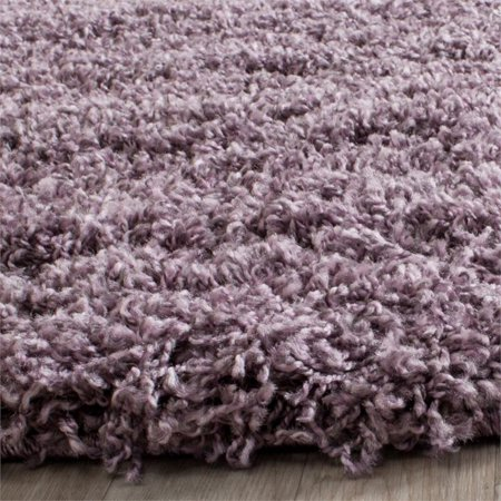 Safavieh Laguna Shag 8' X 10' Power Loomed Polypropylene Rug in Purple - image 5 de 10