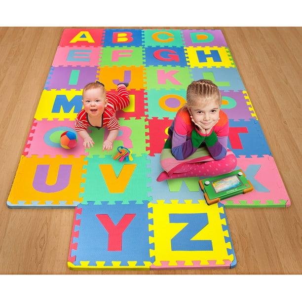 26 Piece Foam Floor Alphabet Puzzle Mat For Kids Multi Color
