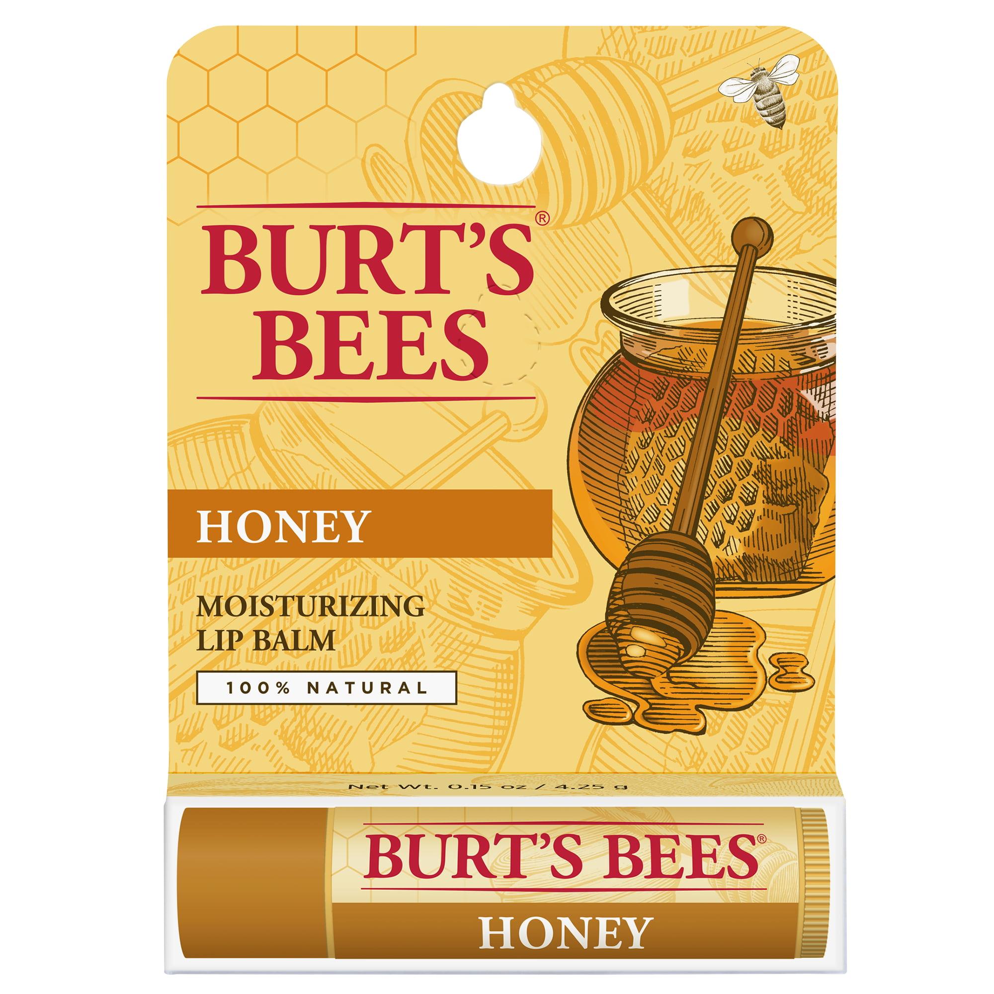 Burt's Bees Honey Moisturizing Lip Balm 0.15oz