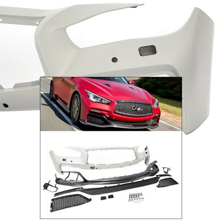 EAU Style Conversion Front End Bumper Kit For 14 15 16 17 Infiniti Q50 V37 4Dr Sedan 2014 2015 2016 2017 Front Suspension Conversion Kit