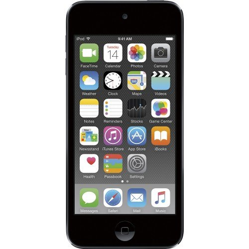 Refurbished Apple iPod Touch 16GB Space Gray 6th Generation MKH62LL/A