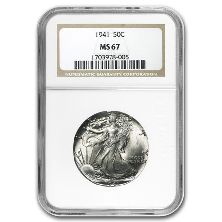 1941 Walking Liberty Half Dollar MS-67