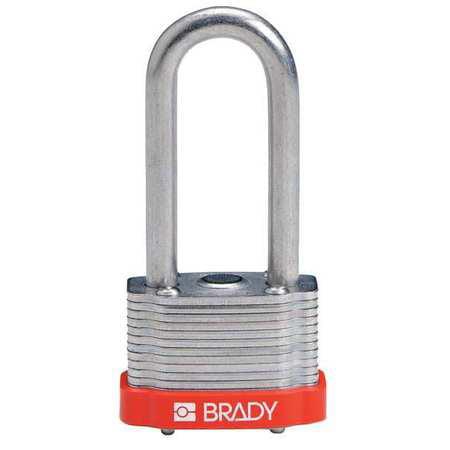 BRADY 118978 Keyed PadlockAlike1 5 16 WPK6