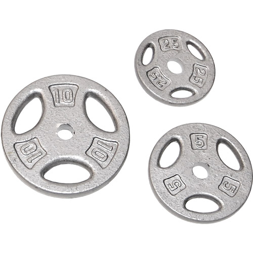 "CAP Barbell 1"" Hole Weight Lifting Plate, Single"