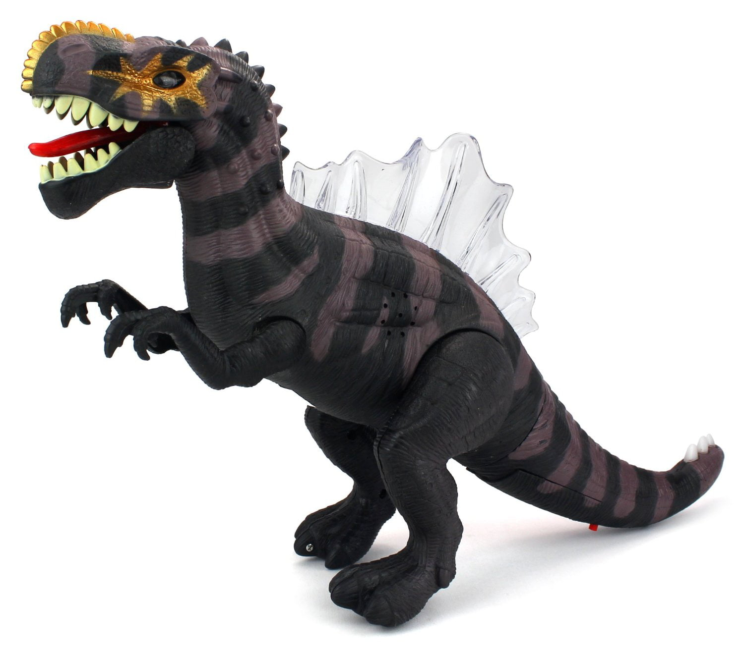 Dino Kingdom Spinosaurus Battery Operated Walking Toy Dinosaur Figure w  Realistic Movement, Lights and Sounds... by Velocity Toys