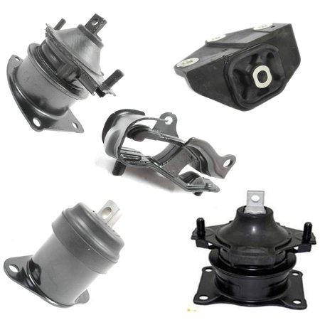 For: 2004-2006 Acura TL 3.2L Engine Motor & Trans Mount Kit 5PCS for Auto Transmission 04 05 06 MK4517 MK4524 MK4544 MK4526 MK4527 M284