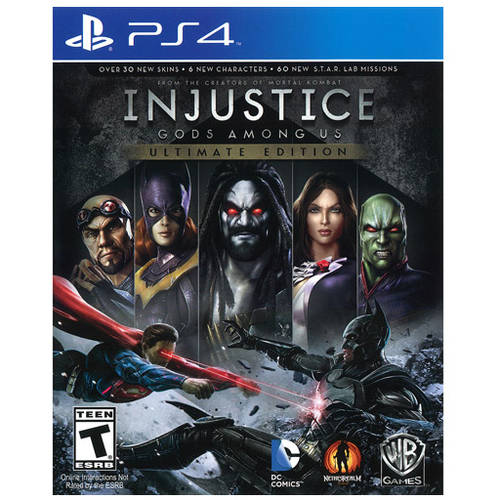 Injustice Gods Among Us (PS4) - Pre-Owned