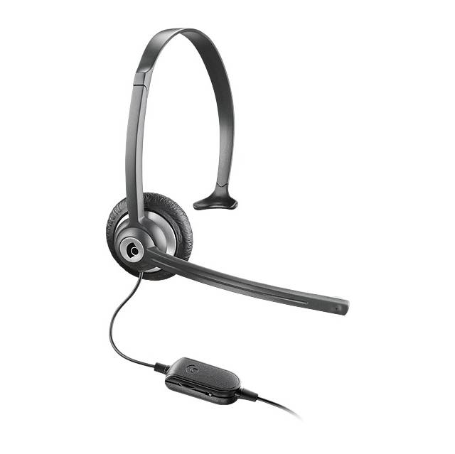 Plantronics M214C Wired 2.5mm Monaural Headset w/ Microphone