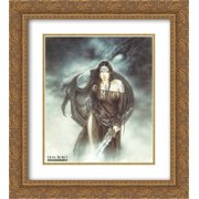 Dragon Spirit 2x Matted 20x24 Gold Ornate Framed Art Print by Luis Royo