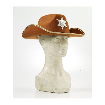 Halloween Child Cowboy Hat with Badge - Halloween Children's Game Ideas
