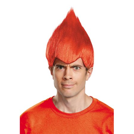 Wacky Red Adult Wig Costume - Wacky Wigs