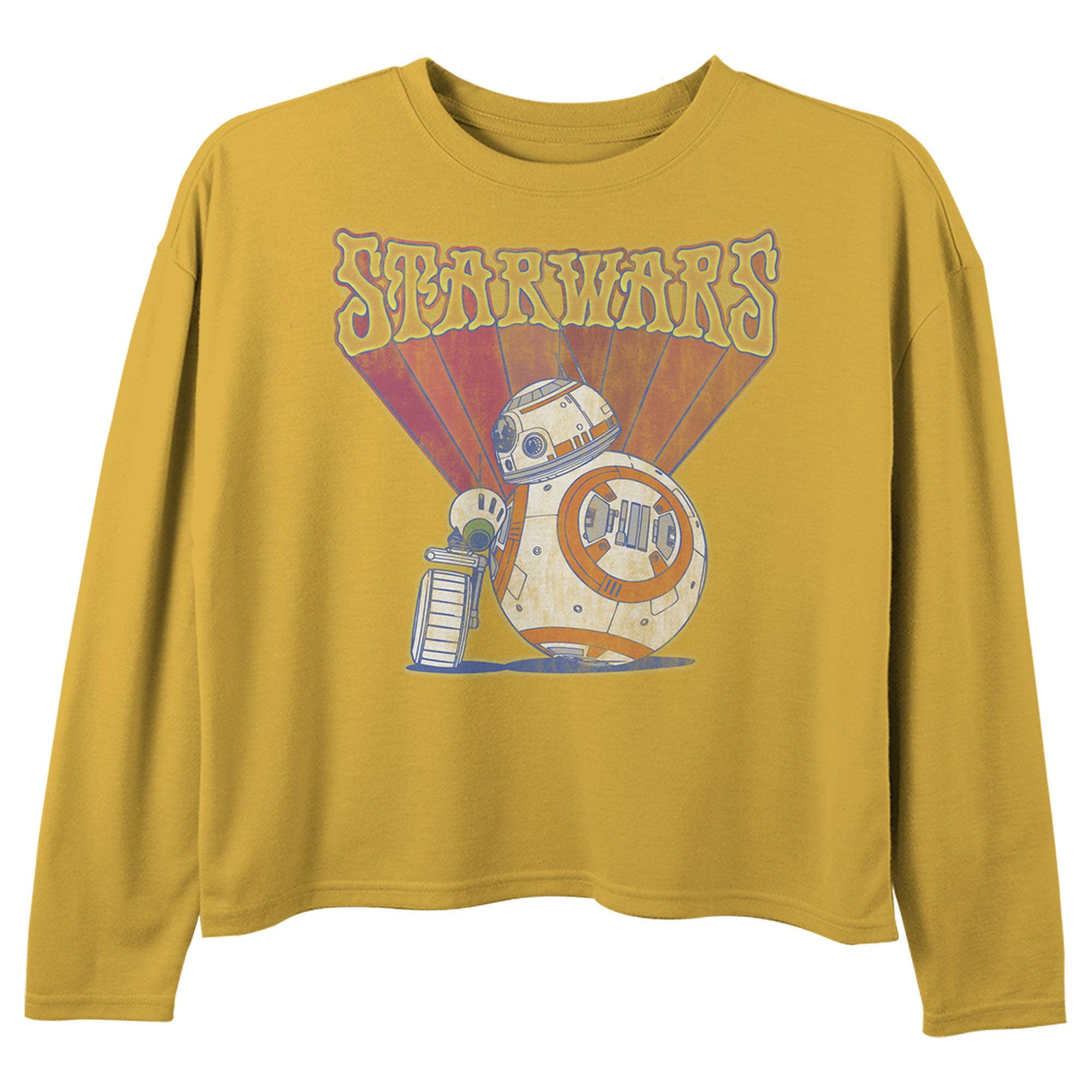 Star Wars Boys The Rise of Skywalker Droid Squares Sweatshirt