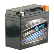 Chrome Pro Battery Ytx20hl-bs High Performance Power Sports Battery