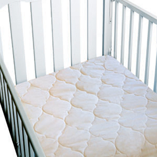 Bargoose Home Textiles Waterproof 3-Ply Crib Pad