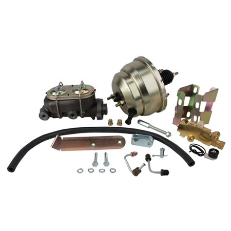 - 1958-64 Chevy Full-size Car Brake Booster Combo, Disc/Drum