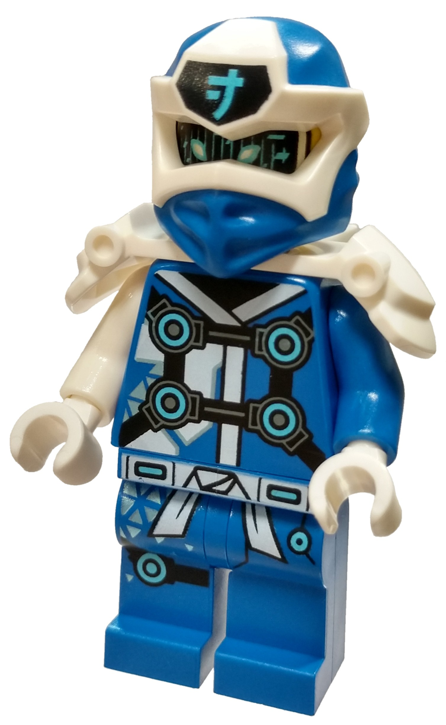 lego ninjago prime empire jay minifigure digi jay no