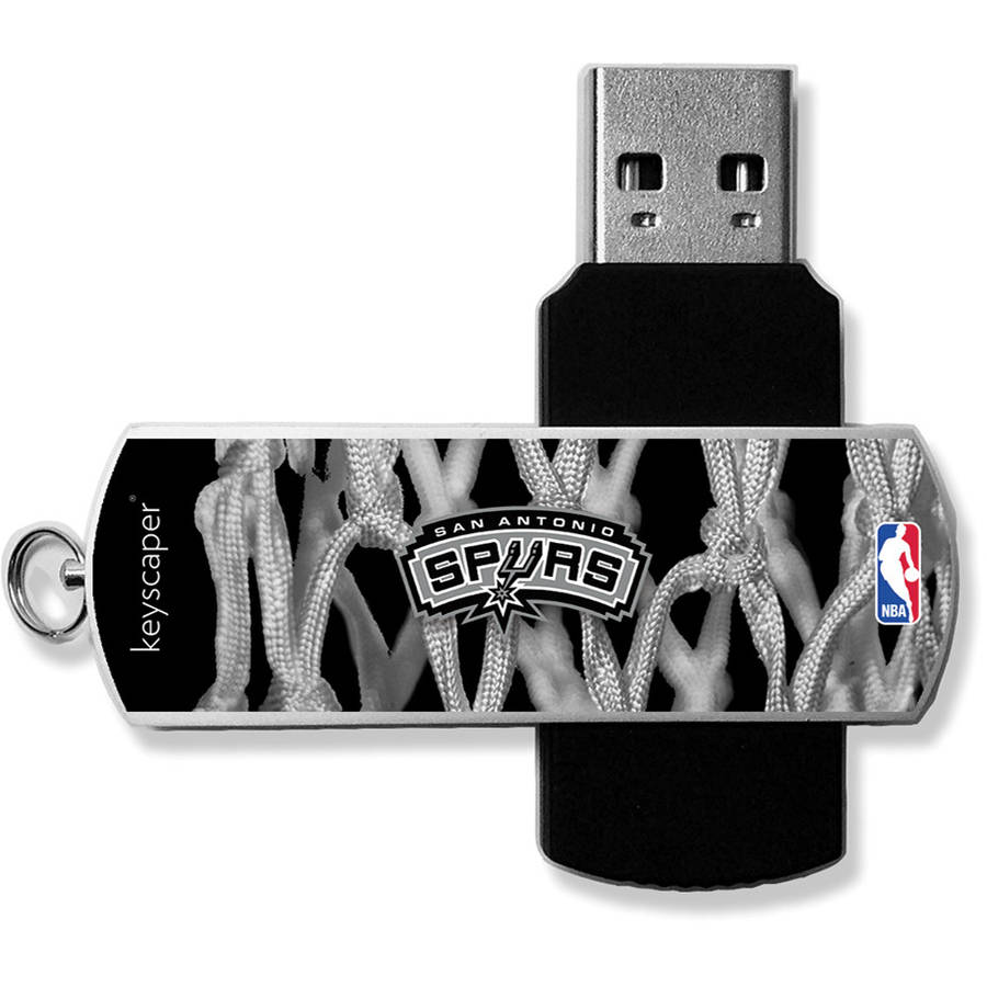 San Antonio Spurs Net Design USB 8GB Flash Drive by Keyscaper