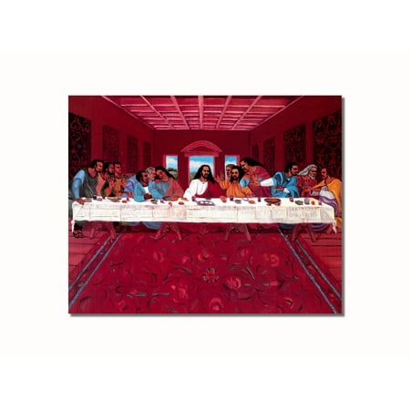 - African American Black Jesus Christ Last Supper #2 Wall Picture 8x10 Art Print