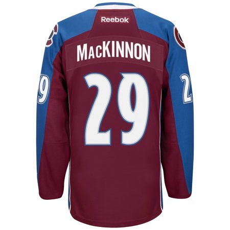 Nathan MacKinnon Colorado Avalanche Reebok Premier Jersey (Maroon) Large by