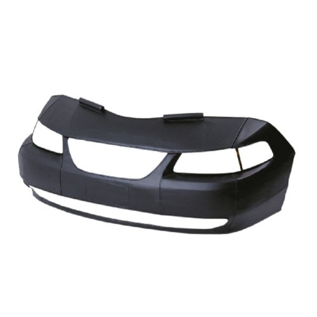 LeBra Front End Cover Ford Mustang Vinyl Black