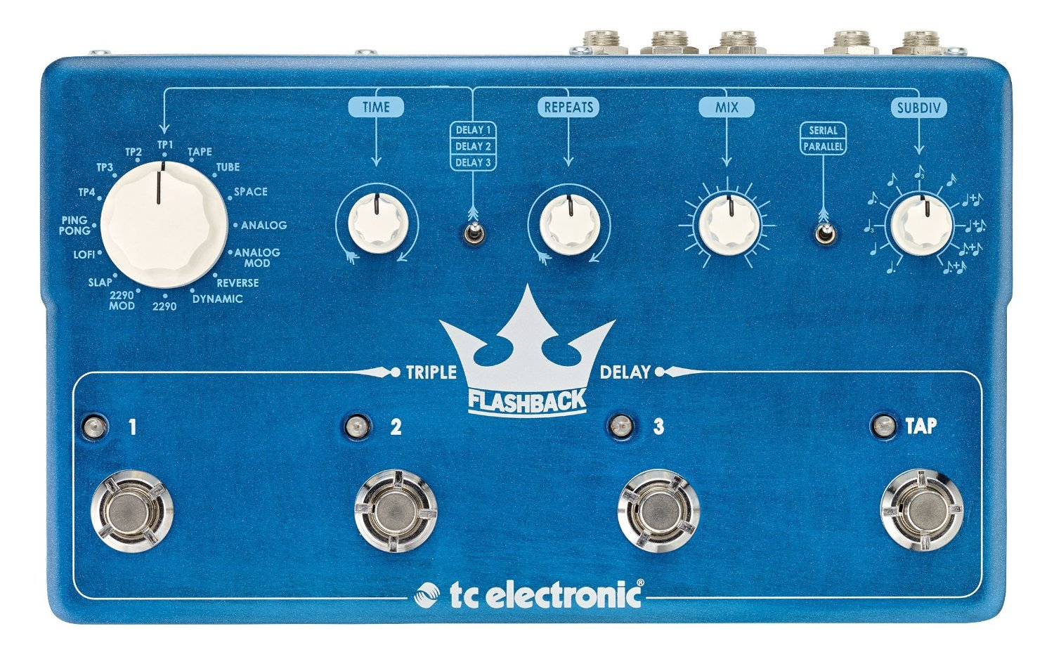 TC Electronic Flashback Triple Delay Guitar Effects Pedal by TC Electronic