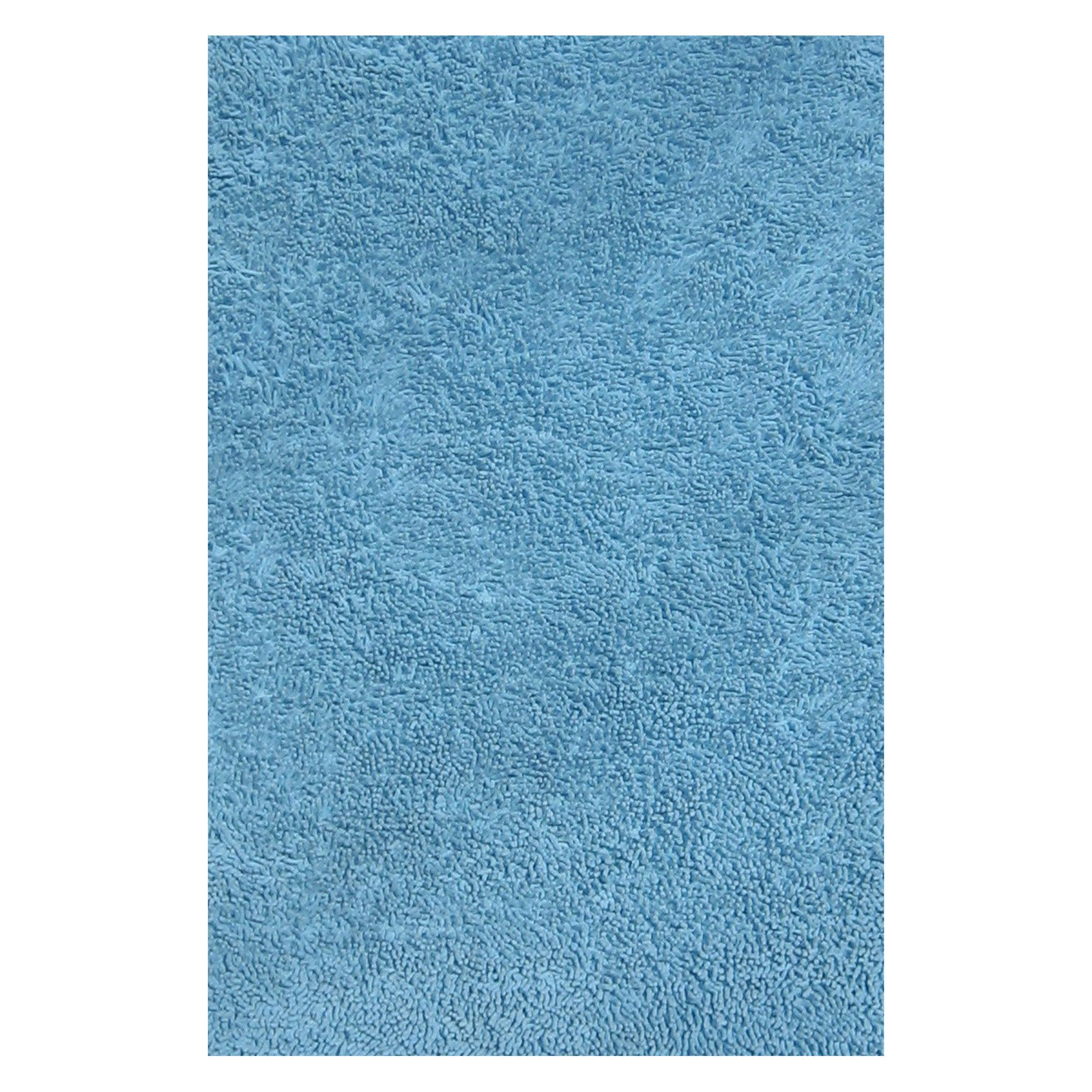 Fun Rugs Fun Shag Rectangle Rug, Light Blue