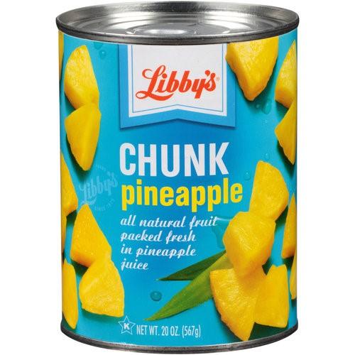 Libby's Chunk Pineapple, 20 Oz