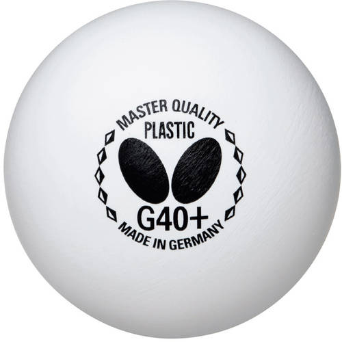 Butterfly Master Quality G40+ Table Tennis Balls