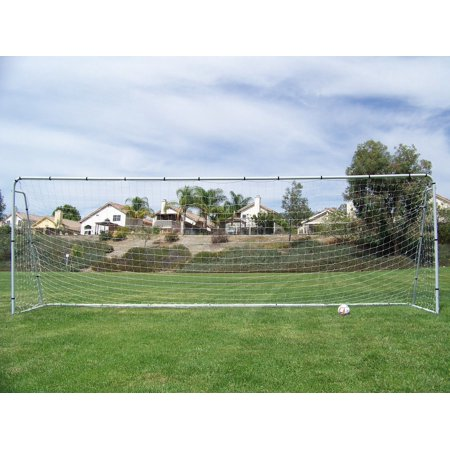 Heavy Duty Steel Soccer Goal - PASS 21 X 7 X 5 Ft Official Youth Modified Size. Heavy Duty Steel Soccer Goal w/ Net. Regulation Youth Modified FIFA/MLS League Size Goals. Professional Practice Training Aid. 21 X 7, 21x7 Soccer Goal