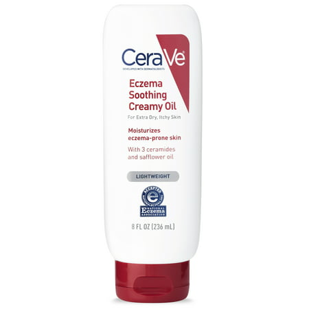 CeraVe Lightweight Eczema Soothing Creamy Oil, 8 fl