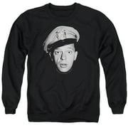Andy Griffith Barney Head Mens Crewneck Sweatshirt