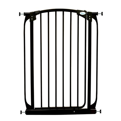 DreamBaby F190B Extra-Tall Swing Close Security Gate Black