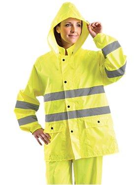 OccuNomix LUXTRJK Men's Classic Breathable Rain Jacket