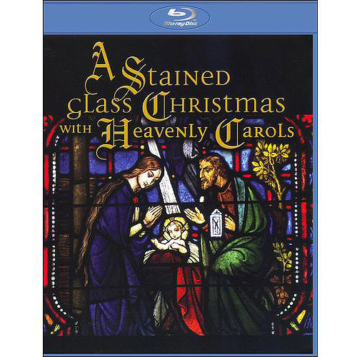 A Stained Glass Christmas With Heavenly Carols (Blu-ray)