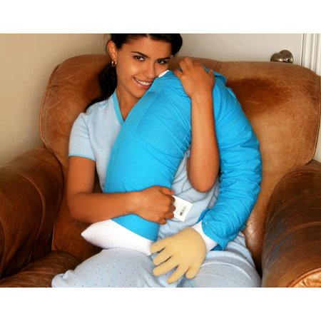 Deluxe Comfort Boyfriend Micro Bead Cotton Bed Rest Pillow