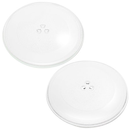 2-Pack Replacement 1B71961 Microwave Turntable Glass Plate