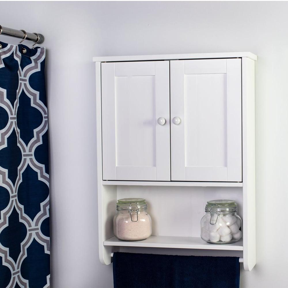 ktaxon bathroom wall cabinet mount hanging storage shelf