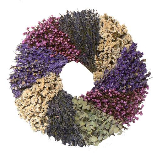 Urban Florals Lavender Country Wreath