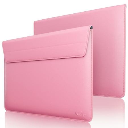Kuzy - Leather Sleeve Case for MacBook Pro 13