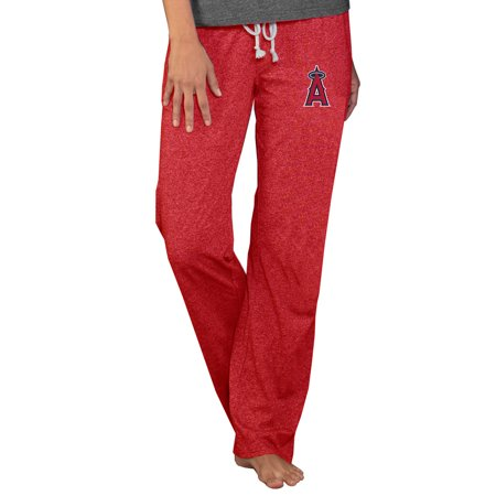 Angel Pant - Los Angeles Angels Concepts Sport Women's Quest Knit Pants - Red