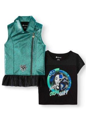 Disney Descendants Vest Top Combo Pack (Little Girls & Big Girls)
